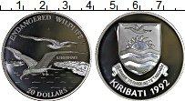 Изображение Монеты Кирибати 20 долларов 1992 Серебро Proof