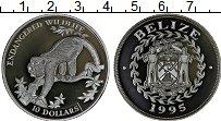 Изображение Монеты Северная Америка Белиз 10 долларов 1995 Серебро Proof