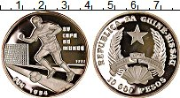 Изображение Монеты Африка Гвинея-Бисау 10000 песо 1992 Серебро Proof-