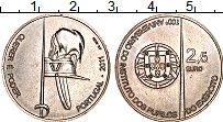 Изображение Монеты Португалия 2 1/2 евро 2011 Медно-никель UNC 100 лет Институту во