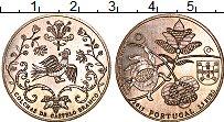 Изображение Монеты Португалия 2 1/2 евро 2015 Медно-никель UNC Покрывала из Каштелу
