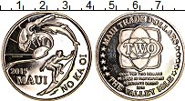 Изображение Монеты США Гавайские острова 2 доллара 2015 Медно-никель UNC