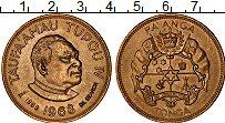 Изображение Монеты Тонга 1 паанга 1968 Латунь XF Тауфа'ахау Тупоу IV,