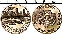 Изображение Монеты Азия Сингапур 5 долларов 1982 Медно-никель UNC