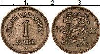 Изображение Монеты Эстония 1 марка 1922 Медно-никель XF