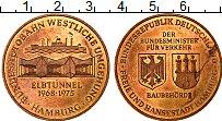 Изображение Монеты ФРГ Жетон 1975 Медь UNC-