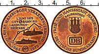 Изображение Монеты ФРГ Жетон 1975 Медь UNC- Гамбург, Транспортно