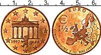 Изображение Монеты Германия 1 1/2 евро 1997 Бронза UNC- UNUSUAL