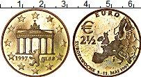 Изображение Монеты Германия 2 1/2 евро 1997 Латунь UNC- UNUSUAL