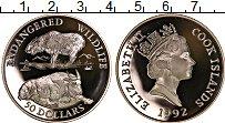Изображение Монеты Острова Кука 50 долларов 1992 Серебро Proof