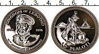 Изображение Монеты Лесото 10 малоти 1976 Серебро UNC