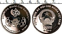 Изображение Монеты Вьетнам 10000 донг 2006 Серебро UNC