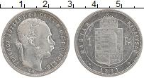 Изображение Монеты Европа Венгрия 1 флорин 1881 Серебро XF-