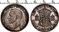 Изображение Монеты Великобритания 1/2 кроны 1941 Серебро XF-