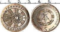 Изображение Монеты ГДР 5 марок 1971 Медно-никель UNC-