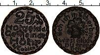 Изображение Монеты Германия : Нотгельды 25 пфеннигов 1921 Фарфор UNC Кобленц
