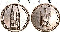 Изображение Монеты ФРГ 5 марок 1980 Медно-никель UNC-
