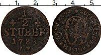 Продать Монеты Юлих-Берг 1/2 стюбера 1784 Медь