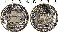 Изображение Монеты Северная Америка Ангилья 4 доллара 1970 Серебро Proof-