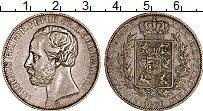 Изображение Монеты Германия Ольденбург 1 талер 1866 Серебро XF+
