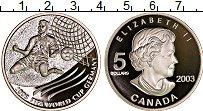 Изображение Монеты Канада 5 долларов 2003 Серебро Proof Чемпионат мира по фу
