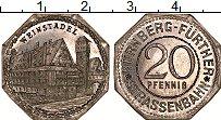 Изображение Монеты Германия : Нотгельды 20 пфеннигов 1920 Алюминий UNC