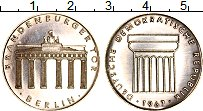 Изображение Монеты ФРГ Жетон 1967 Серебро UNC Берлин