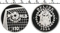 Изображение Монеты Белиз 10 долларов 1994 Серебро Proof