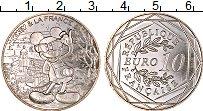 Изображение Монеты Франция 10 евро 2018 Серебро UNC