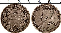 Изображение Монеты Канада 50 центов 1918 Серебро VF Георг V