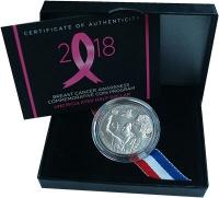 Изображение Подарочные монеты США 1/2 доллара 2018 Медно-никель Proof