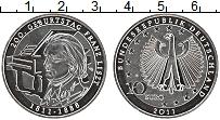 Изображение Монеты Германия 10 евро 2011 Серебро Proof 200 лет со дня рожде