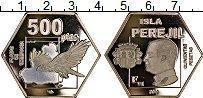 Изображение Монеты Испания 500 песет 2019 Посеребрение Proof