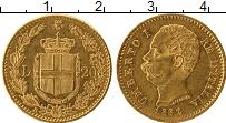 Изображение Монеты Италия 20 лир 1882 Золото XF+