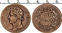Изображение Монеты Франция Мартиника 10 сантим 1827 Медь VF