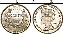 Изображение Монеты Люксембург 50 сантим 1914 Серебро UNC Мария-Аделаида (ПРОБ