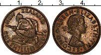 Изображение Монеты Новая Зеландия 1 шиллинг 1964 Медно-никель XF Елизавета II
