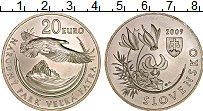 Изображение Монеты Словакия 20 евро 2009 Серебро UNC