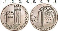 Продать Монеты Словакия 20 евро 2018 Серебро