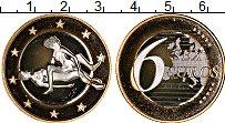 Изображение Монеты Германия 6 секс евро 2000 Биметалл UNC Сувенир. Данный това