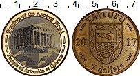 Продать Монеты Тувалу 7 долларов 2017 Латунь