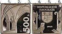 Изображение Монеты Франция 500 франков 2018 Посеребрение Proof-
