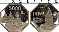 Изображение Монеты Индонезия 5000 рупий 2018 Посеребрение Proof- UNUSUAL, Султанат Дж