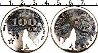 Изображение Монеты Молдавия Гагаузия 100 лей 2017 Посеребрение Proof-