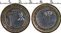 Изображение Монеты Африка Бенин 6000 франков 2003 Биметалл XF