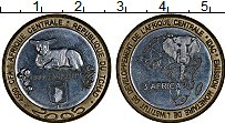 Продать Монеты Чад 4500 франков 2005 Биметалл