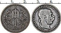 Изображение Монеты Австрия 1 крона 1893 Серебро VF Франс Иосиф I