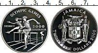 Изображение Монеты Ямайка 25 долларов 2000 Серебро Proof- Олимпийские игры в А