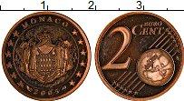 Продать Монеты Монако 2 евроцента 2001 сталь с медным покрытием