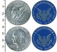 Изображение Наборы монет США Набор США 1974 1974 Серебро UNC